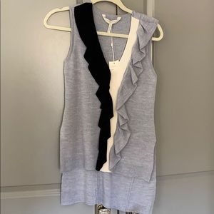 NWT BCBG Merino Wool Sleeveless Sweater